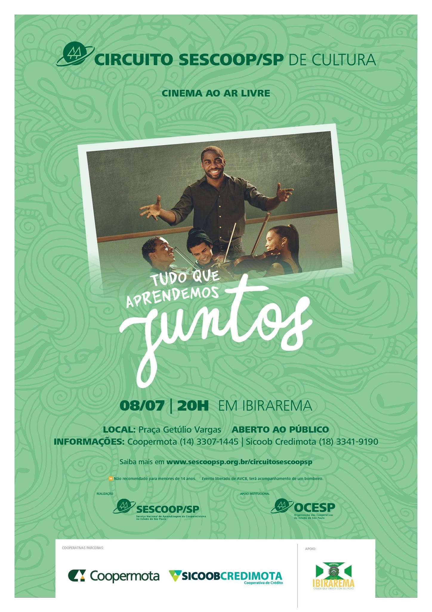 Circuito Cinema Sp : Prefeitura de ibirarema sp ibirarema recebe cinema ao ar livre